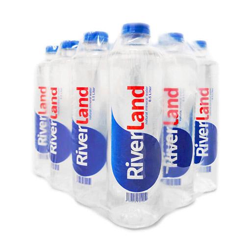 آب معدنی لوکس ریورلند باکس ۰/۵ لیتری RedLabel