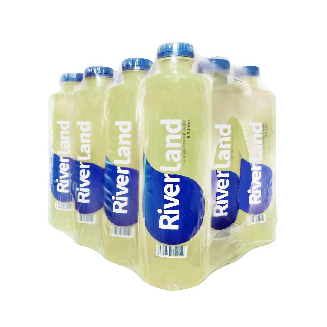 آب معدنی لوکس ریورلند باکس 0/5 لیتری زرد